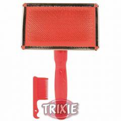 Мягкая щетка в комплекте с расческой Trixie TX-2353,  TX-2354