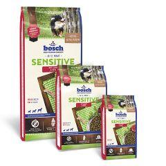 Bosch Sensitive Lamb & Rice Сухой гипоаллергеннный корм Бош Сенситив ягненок и рис для взрослых собак всех пород