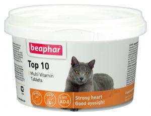 Beaphar Top 10 мультивитамины для кошек