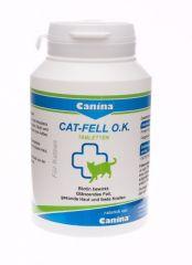 Canina Cat Fell O.K. пищевая добавка с биотином для кошек