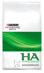 Purina (Пурина) Veterinary Diets HA Hypo Allergenic Feline Formula лечебный диетический сухой корм для взрослых кошек при аллергии