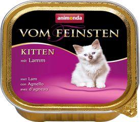 Вом Фейнштен  с ягненком корм консерва для котят. 100гр, Анимонда