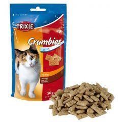 Лакомство для кота Подушечки с шерстевыводящим эффектом Trixie 4262