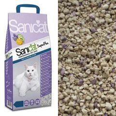 Sanicat Professional Super Plus впитывающий наполнитель с ароматом лаванды и апельсина