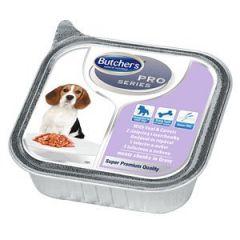 Butchers PRO series Veal (консервы для собак) кусочки телятины с морковью в соусе, 150 гр