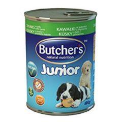 Butchers Junior (консервы для щенков) Кусочки ягненка в желе, 400 гр