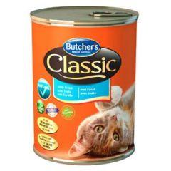 Butcher's Classic Консерва Бутчерс с форелью для кошек