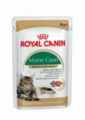 Royal Canin Maine Coon (кусочки в соусе) влажный корм консерва для взрослых кошек (пауч)