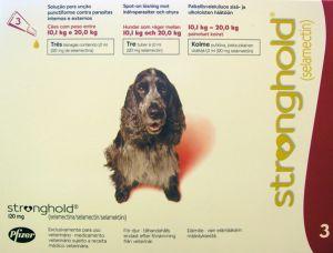 Стронгхолд (Stronghold) 12% средние собаки (10,1-20,0 кг) пипетка 120 мг (1 мл)