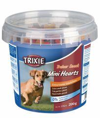 Лакомство для собак всех пород с птицей, ягненком и лососем Trainer Snack Mini Hearts Trixie 31524
