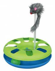 Игрушка для кошки Crazy Circle с мышкой Трикси 4135