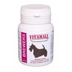 VitamAll (ВитамОлл) Кормовая добавка с пивными дрожжами и чесноком для малых и средних пород собак