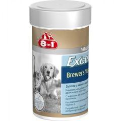 8in1 BREWERS YEAST WITH GARLIC - пивные дрожжи с чесноком для собак и кошек, 140 шт.