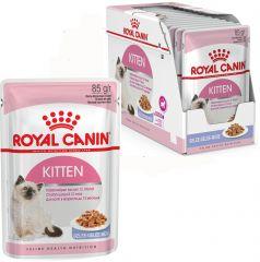Royal Canin Kitten Instinctive в желе корм консерва для котят до 12 месяцев (пауч)