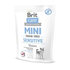 Brit (Брит) Care Grain-free Mini Sensitive сухой беззерновой корм с олениной для собак миниатюрных пород с чувствительным пищеварением