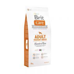 Brit (Брит) Care Adult Medium Breed Lamb&Rice сухой корм с рисом и ягненком для взрослых собак средних пород