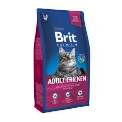 Brit Premium (Брит премиум) Cat Adult Chicken сухой корм с курицей для взрослых кошек