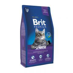 Brit Premium (Брит премиум) Cat Senior сухой корм для пожилых кошек