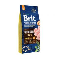 Brit Premium (Брит премиум) Junior M сухой корм для щенков и молодых собак средних пород