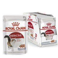 Royal Canin Instinctive (паштет) консервы для кошек старше 1 года (пауч)
