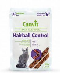 Canvit Hairball Control (Канвит для выведения шерсти) - ПОЛУВЛАЖНЫЕ ФУНКЦИОНАЛЬНЫЕ ЛАКОМСТВА ДЛЯ ВЗРОСЛЫХ КОШЕК С УТКОЙ И ПРИРОДНОЙ КЛЕТЧАТКОЙ ДЛЯ ЛЕГКОГО ВЫВЕДЕНИЯ КОМКОВ ШЕРСТИ