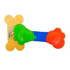 Игрушка для собак косточка, косточка-пружина PetWorx (ПетВоркс) PRT-0006 (15.7 см)