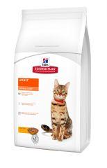 Hills Science Plan Feline Adult Optimal Care Chicken Сухой корм с курицей для взрослых кошек всех пород