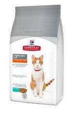 Hills Science Plan Sterilised Cat Young Adult Tuna Сухой корм с тунцом для взрослых стерилизованных кошек
