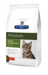 Hills (Хилс) Prescription Diet Canine Feline Metabolic лечебный сухой корм для взрослых кошек для снижения и поддержания веса