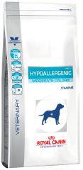 Royal Canin Hypoallergenic Moderate Calorie HME23 Dog Лечебный корм для собак для стареющих, кастрированных, стерилизованных или страдающих избыточным весом собак при пищевой аллергии или непереносимости