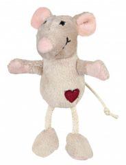 Игрушка для кошек мышь плюшевая с мятой Трикси 45579
