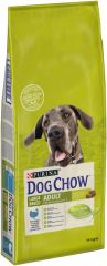 Dog Chow (Дог Чау) Adult сухой премиум корм с индейкой для взрослых собак крупных пород