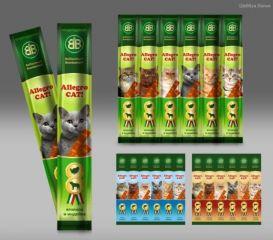 Мясные колбаски для кошек Allegro Cat (Аллегро Кет)  в ассортименте