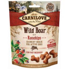Carnilove (Карнилав) Dog Crunchy Snack Wild Boar With Rosehips - Лакомство с диким кабаном и шиповником для собак всех пород