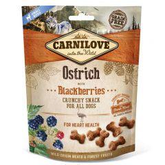 Carnilove (Карнилав) Dog Crunchy Snack Ostrich with Blackberries - Лакомство с мясом страуса и ежевикой для взрослых собак всех пород