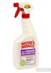 Natures Miracle Устранитель запахов 3в1, спрей, без запаха 8in1 710 мл (680194 /5451 USA)