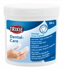 Одноразовые салфетки для чистки зубов для кошек Трикси 29393