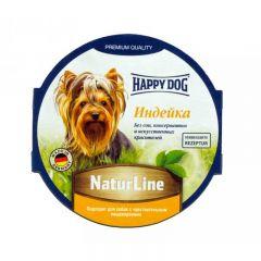 Happy Dog NaturLine - паштет Хэппи Дог с индейкой для собак