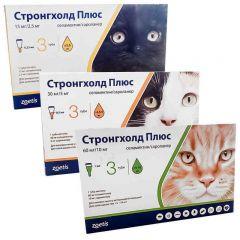 Стронгхолд Плюс (Stronghold) кошки, капли на холку