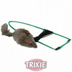 Мышка на резинке в дверной проем Trixie TX-4065