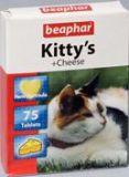 Beaphar Kitty's Cheese - витамины для кошек со вкусом сыра