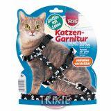 Шлея + поводок для кошки Trixie, TX-41894