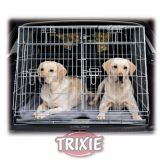 Оцинкованная транспортная двухместная клетка для собак Trixie, TX-3930