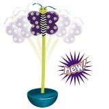 Petstages Quiet Glow Moth - игрушка для кошек и котят «Ванька-встанька» pt357
