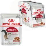 Royal Canin Instinctive Gravy влажный корм консерва для кошек старше 1 года (пауч)