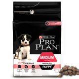 Purina Pro Plan (Пурина Про План) PUPPY MEDIUM Sensitive Skin OPTIDERMA сухой корм для щенков средних пород с лососем и рисом