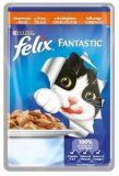 Felix Fantastic (Феликс Фантастик) 100 гр корм консервы для кошек - кусочки с индейкой в желе