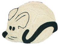 Напольная когтеточка коврик для кошки Трикси Mouse 4315