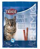 Лакомство палочки для кошек Premio Quadro-Sticks лосось и форель Трикси 42725