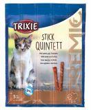 Лакомство палочки для кошек Premio Quadro-Sticks ягненок индейка Трикси 42723
